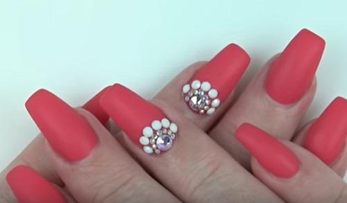 East Swarovski Nail Art Amazingnailart